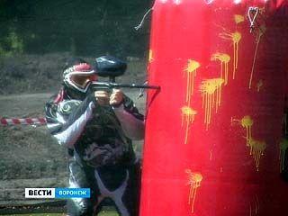 Борьбу за кубок Воронежской области по пейнтболу вели более 30 команд
