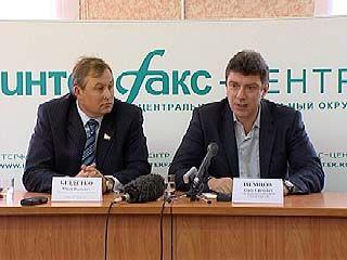 Борис Немцов будет представлять на выборах партию СПС