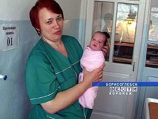 Борисоглебские акушеры нашли на пороге роддома новорожденного мальчика