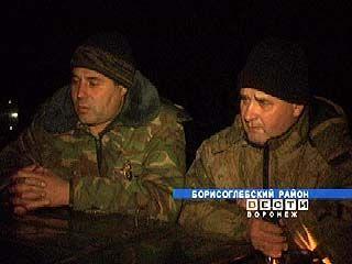 Борисоглебские егеря провели ночной рейд
