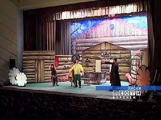 Борисоглебский театр гастролирует в Лисках