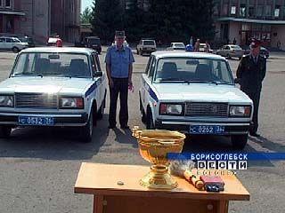 Борисоглебской патрульно-постовой службе выделили два новых автомобиля