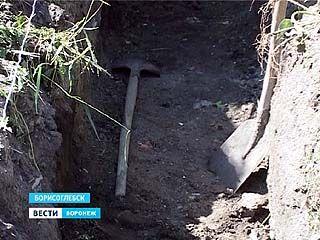 Борисоглебцы против строительства гаражей на границе с кладбищем
