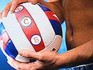 Бойцы невидимого фронта мастерски владеют волейбольным мячом