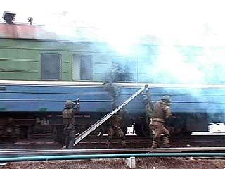 Бойцы спецназа штурмовали поезд на Курском вокзале