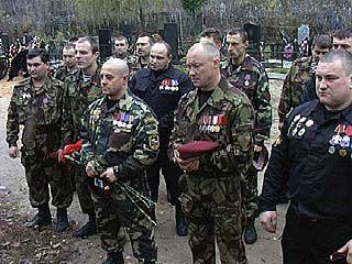 Бойцы-спецназовцы отмечают день образования своего отряда