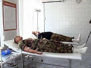 Бойцы воронежского спецназа и ОМОНа решили сдать кровь
