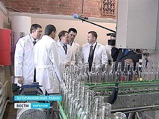 Бутурлиновский ликёро-водочный завод вновь заработал после банкротства