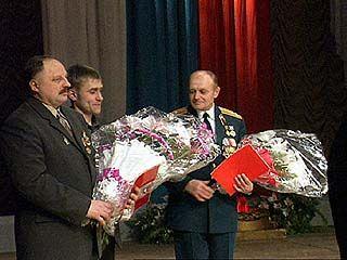 Бывшие афганцы получили памятные медали и грамоты