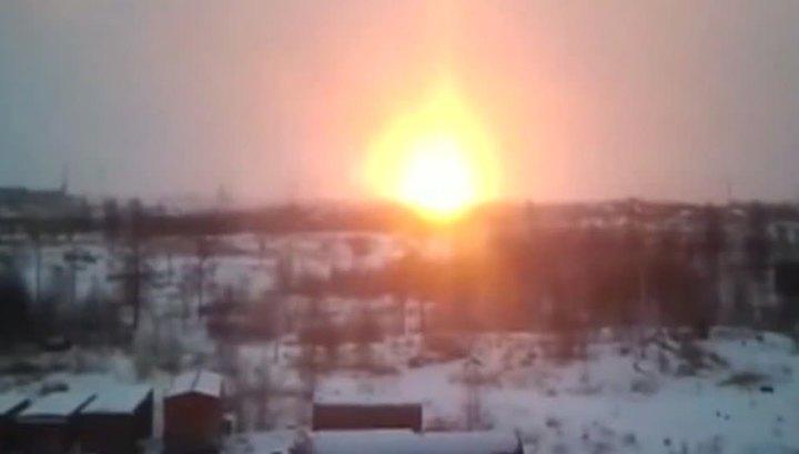 ВВоронежской области произошел пожар нагазопроводе
