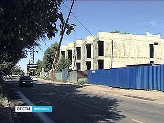 Cекретный объект строится на пересечении улицы Транспортной и Рабочего Проспекта