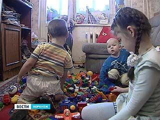 Часть воронежских многодетных семей лишилась права на льготы