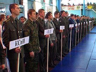 Чемпионат ВВС России по армейскому рукопашному бою стартовал в Воронеже