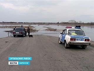 Через реку Битюг в Эртильском районе перекрыли два моста