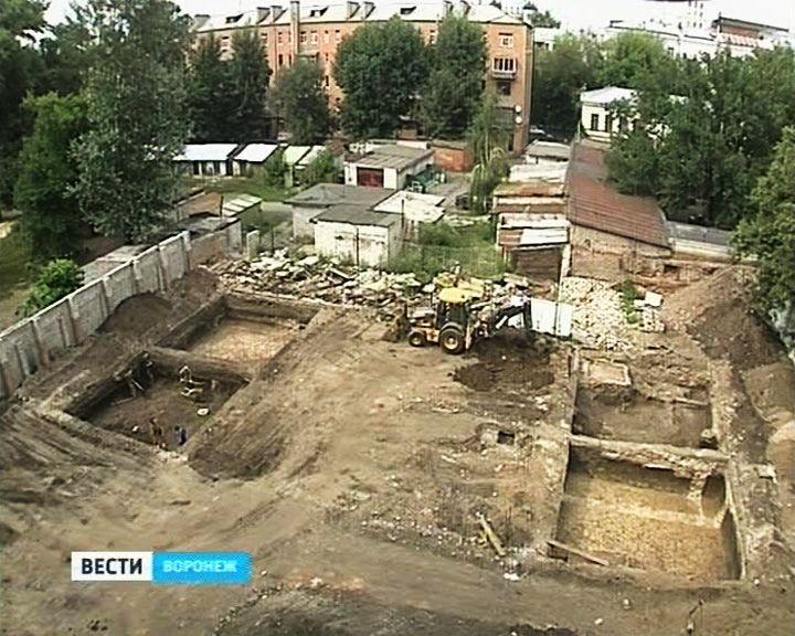 Что нашли учёные в ходе раскопок на месте будущего нового корпуса ВГУ