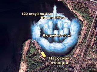 Чудо-фонтана в Воронежском водохранилище не будет
