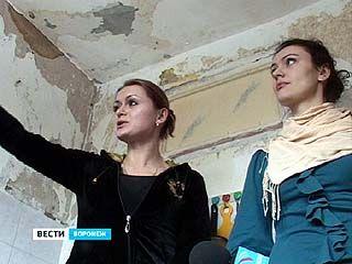 Cнег с крыши обрушился в квартиры дома ╧43 по улице Героев Сибиряков