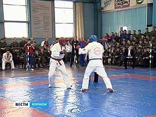 Cтартовал Всероссийский чемпионат ВВС по армейскому рукопашному бою