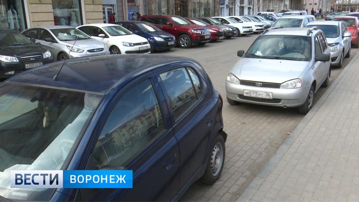 Право на обустройство платных парковок в Воронеже пока остаётся за белгородской компанией