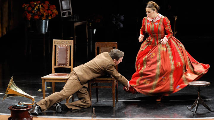 Воронежцы смогут бесплатно увидеть трансляцию спектакля театра Маяковского на большом экране