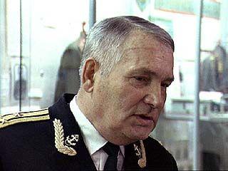 Даже на берегу Николай Титоренко продолжает службу в ВМФ