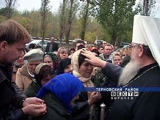 Делегация священнослужителей посетила маленькое воронежское село - Братки