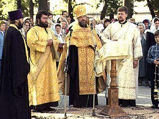 День города в Воронеже впервые начался с молебна