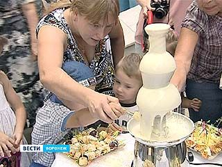 День шоколада в Воронеже без сладкого не остался