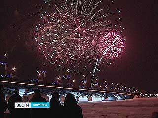 День Защитника Отечества в Воронеже отметили салютом