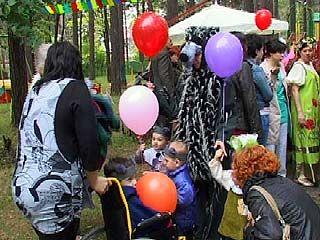 День защиты детей отметили в Воронежском областном доме ребенка