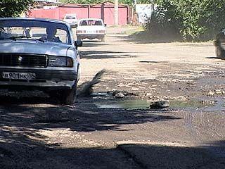 Денег на ремонт воронежских дорог не хватает