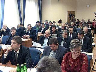 Депутаты гордумы не приняли бюджет на будущий год