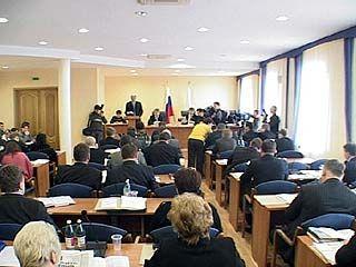 Депутаты горДумы проведут заседание