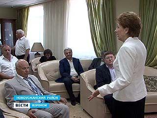Депутаты Госдумы побывали в Новоусманском доме престарелых