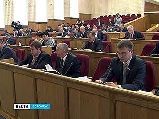 Депутаты областной думы на очередном заседании приняли несколько законов