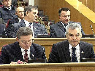 Депутаты облдумы вернулись с каникул