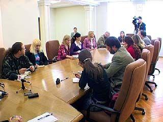 Депутаты Воронежской Облдумы встретились с журналистами