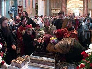 Десница Святителя Спиридона Тримифунтского доставлена в Воронеж