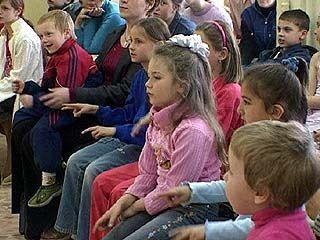 """Дети-инвалиды проходят творческую и социальную реабилитацию в центре """"Кристалл"""""""