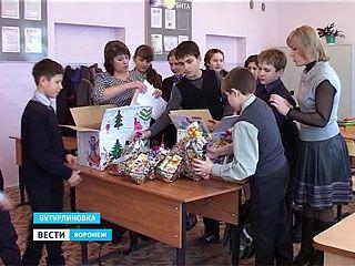 Дети из Бутурлиновки приготовили подарки малышам Донецкой и Луганской областей