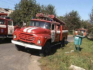 Дети поиграли с зажигалкой, а тушить пришлось 5-ти пожарным машинам