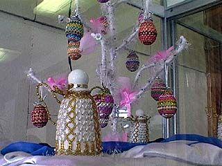 Дети со всей области соревнуются в живописи и изготовлении пасхальных яиц