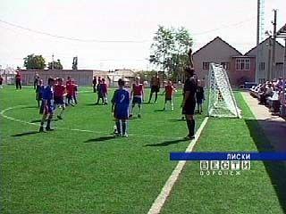 Детский футбольный фестиваль стартовал в Лисках