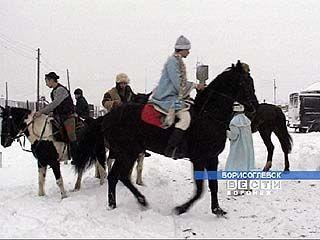 Детям с ограниченными возможностями показали конный театр