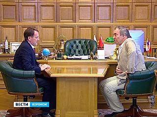 Дирижёр оркестра Мариинского театра встретился с губернатором Алексеем Гордеевым