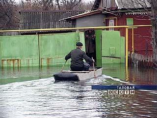 До жителей юга Воронежской области добралось половодье