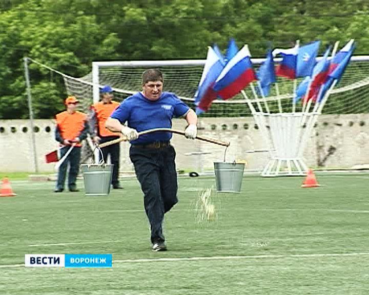 Добровольные пожарные дружины соревновались в Воронеже
