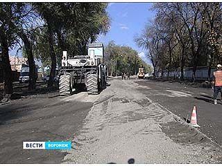Дорогу на Краснознаменной делают по особой, новой технологии
