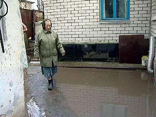 Дожди доставили не мало хлопот жителям переулка Здоровья