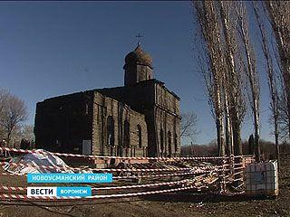Древнюю церковь в селе Горенские выселки перебирают по брёвнышку
